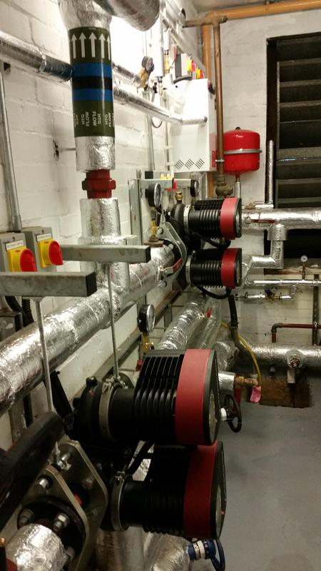 Image 5 - New plant room at a block of flats in Swiss Cottage London