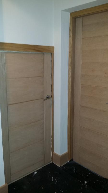 Image 23 - Internal Oak doors and frames NW3