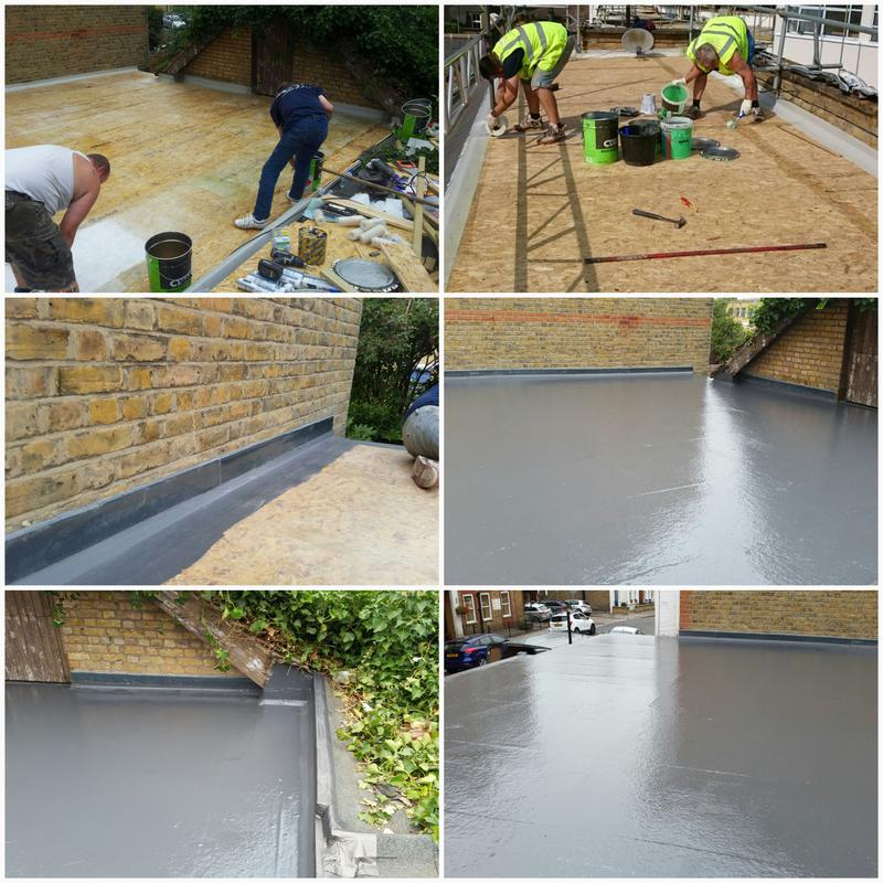 Image 8 - GRP Roof With A 20-Year Insurance Backed Guarantee. GRP Flat Roof Woking, New Flat Roofs Surey