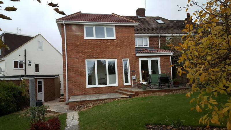 Image 6 - Two storey wrap around extension in Berkhamsted.