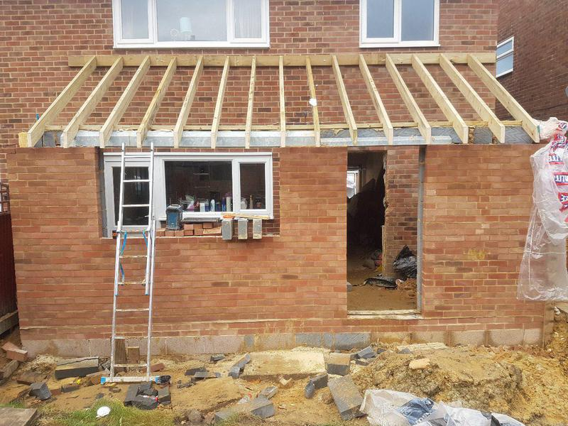 Image 7 - Extension nearly finished