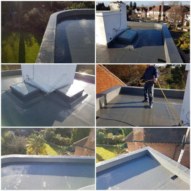 Image 7 - GRP Flat Roof. GRP Roofing Surrey.