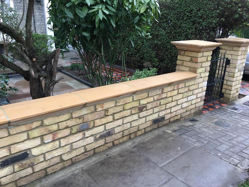 Image 145 - Brick wall/pillar construction