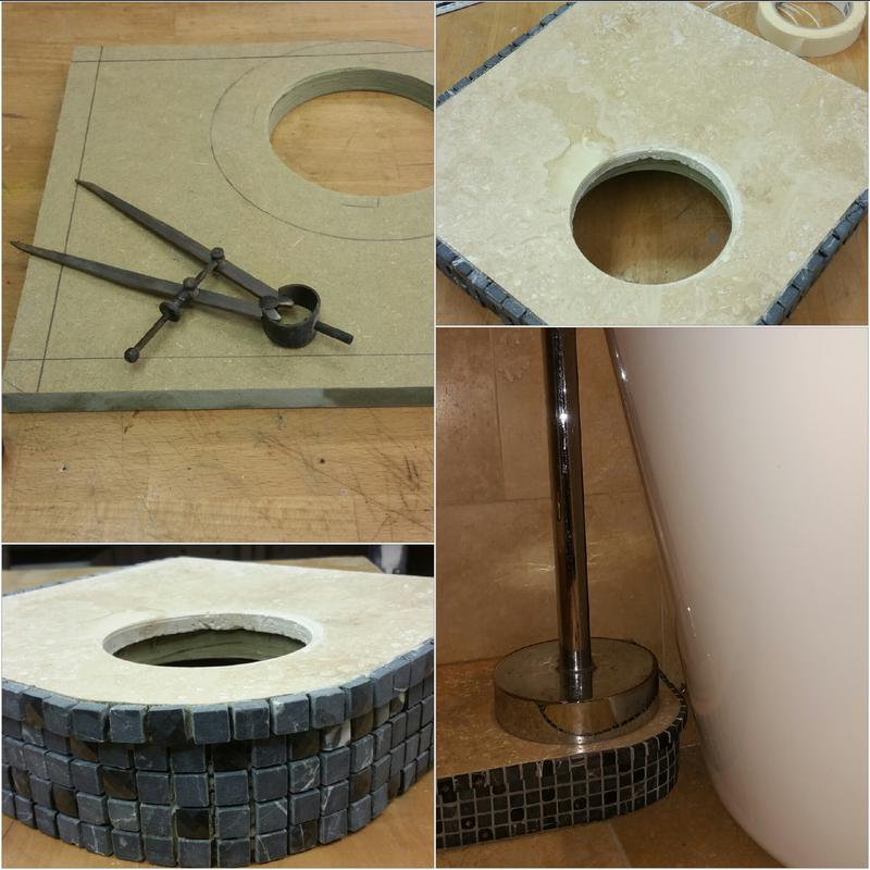 Image 4 - BESPOKE FLOOR MOUNT FOR FREE STANDING BATH TAP