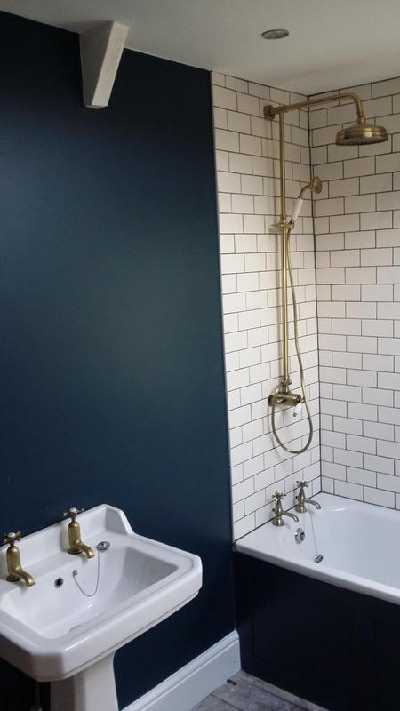 Image 11 - Victorian inspired bathroom designed and fitted by us. Paint colour chosen by client