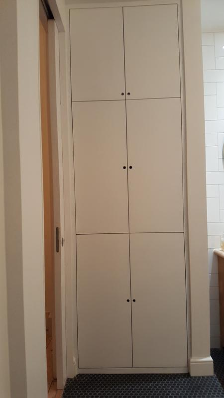 Image 6 - Neat finish on custom made MDF wardrobe