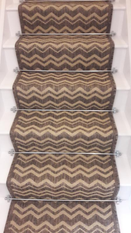 Image 15 - stair runner with rods