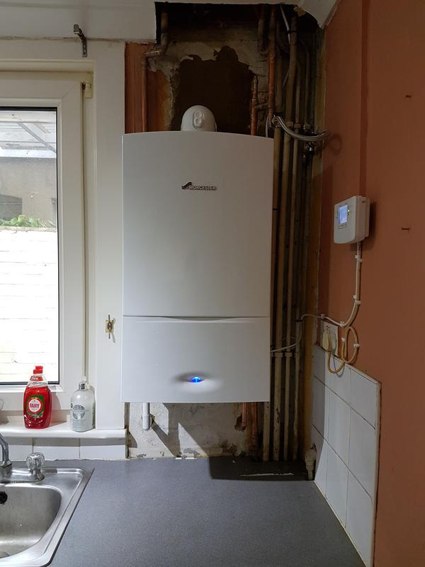Image 21 - Worcester Bosch system boiler fitted to existing system.