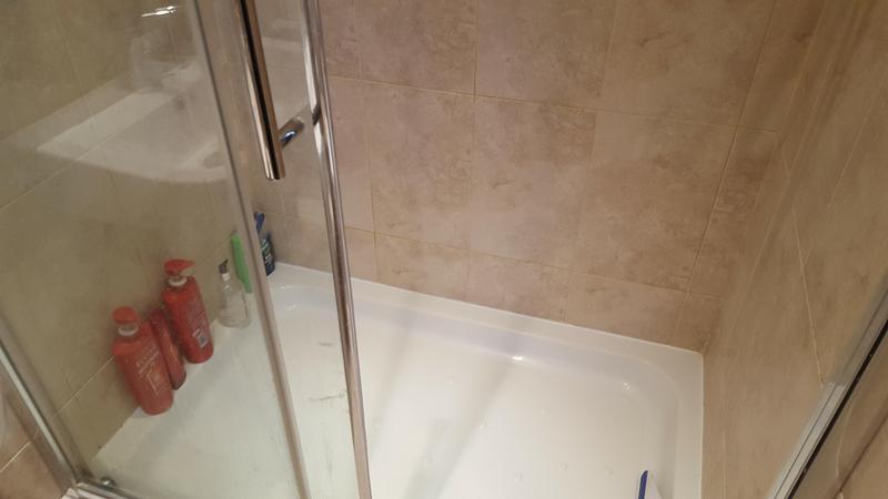 Image 63 - shower re sealed