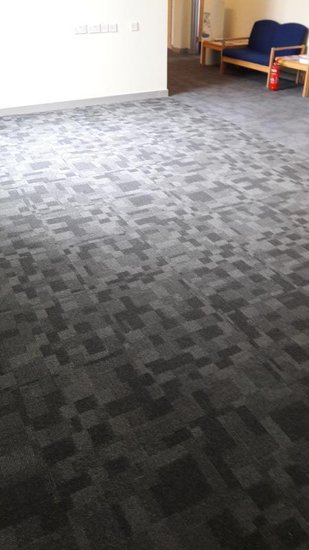 Image 9 - Desso maze carpet tiles