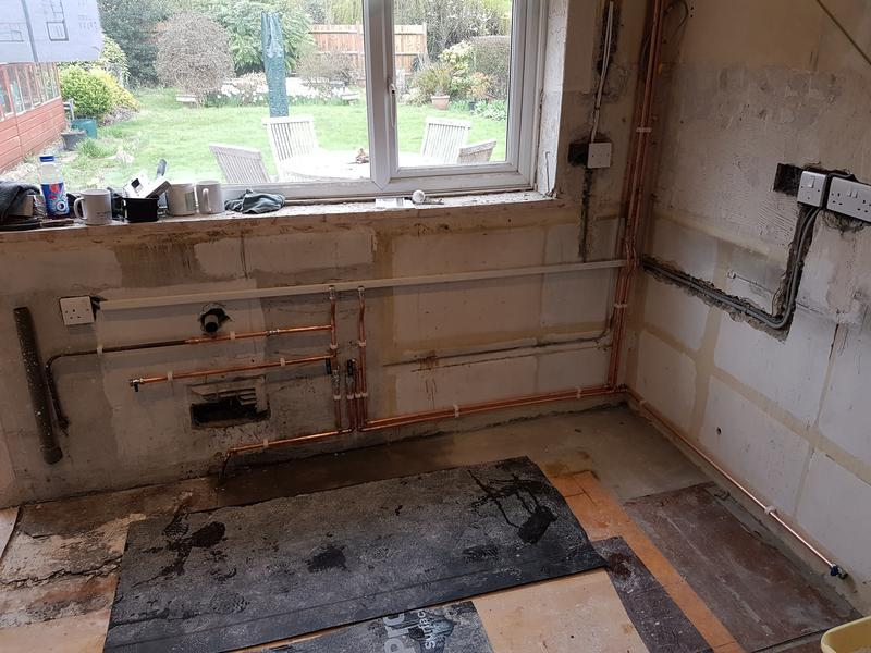 Image 25 - Kitchen Pipework.