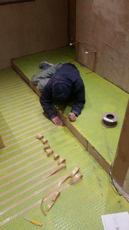Image 78 - High end bathroom, removing dividing wall and creating walk in wet room shower