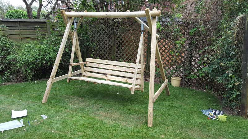 Image 59 - swinging hammock assembly Cobham