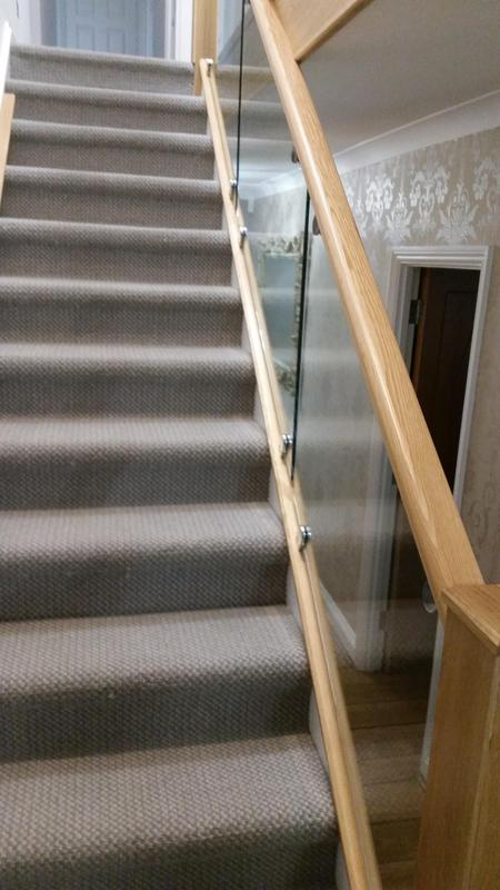 Image 3 - Transform a staircase from spindles to Oak and Glass