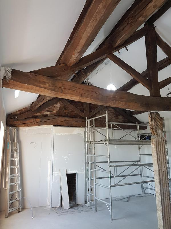 Image 24 - Exposed Timber Ceiling Mid Works