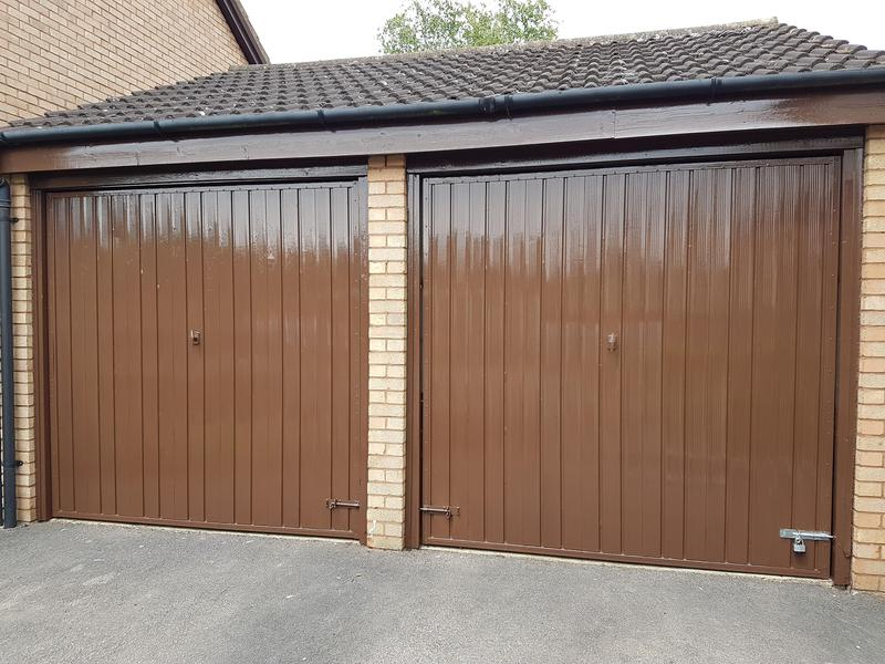 Image 42 - Metal garage Doors finish