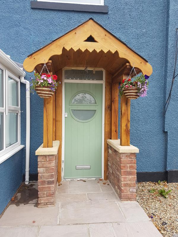 Image 22 - Bespoke Porch Brick and Solid Oak