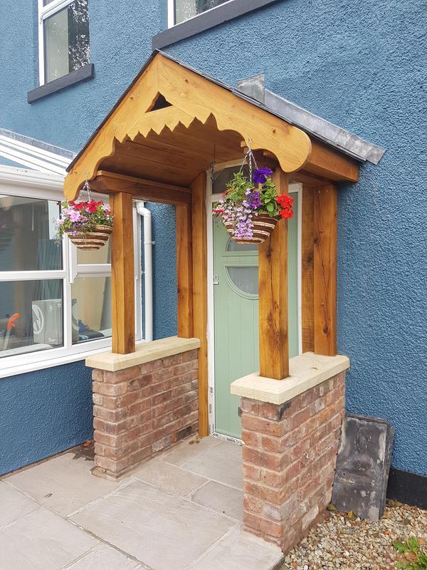 Image 23 - Bespoke Porch Brick and Solid Oak