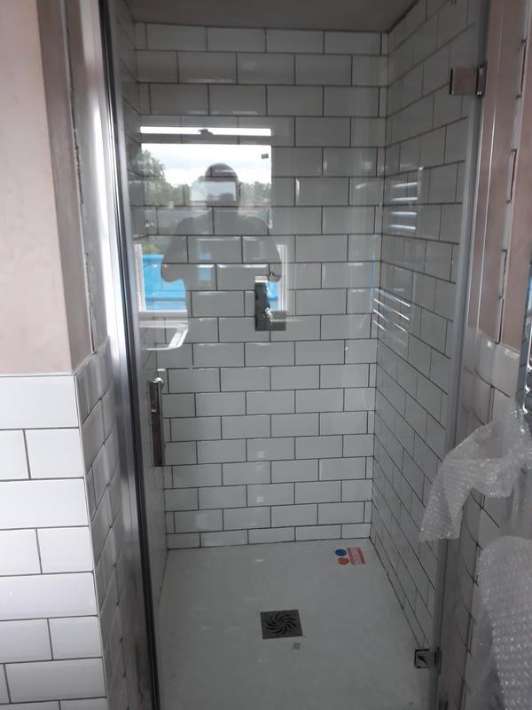 Image 8 - View of finished en-suite in loft conversion. Pre-decoration.