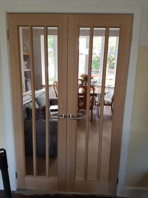 Image 5 - Oak French Doors