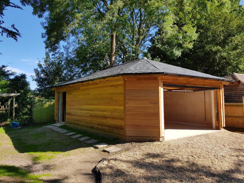 Image 1 - New garage build