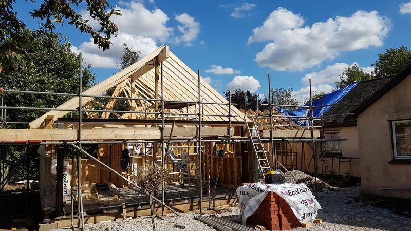 Image 20 - Timber Frame Extension