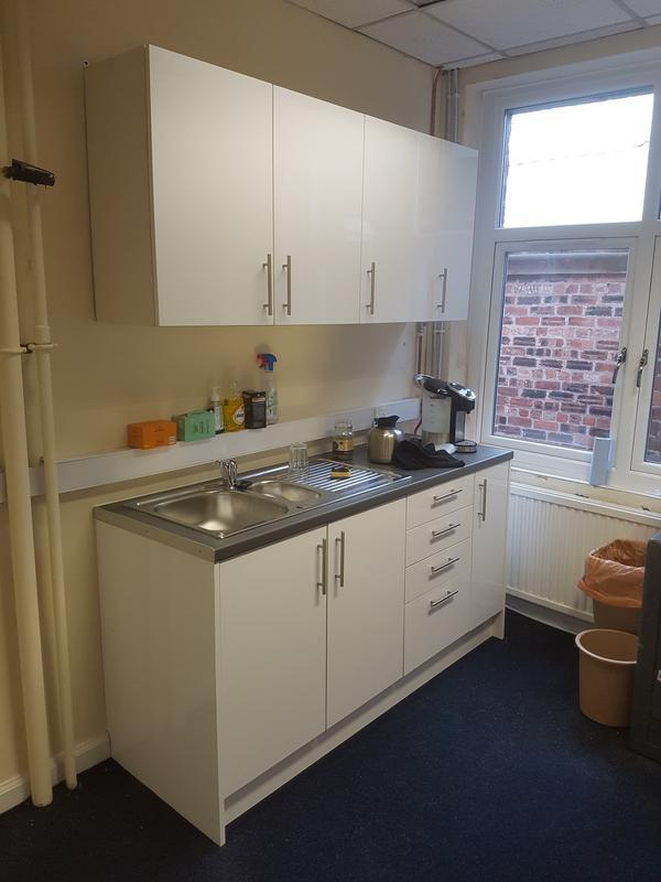 Image 17 - Installation of Office Kitchen
