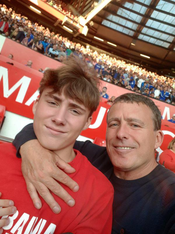 Image 1 - Myself MARK and my apprentice son MAX