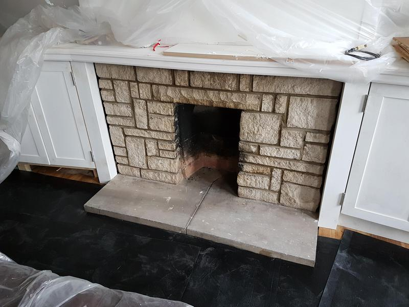Image 41 - Original fire place