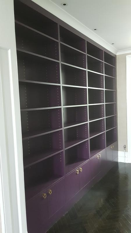 Image 63 - MDF Bookshelf painted in F&B paint