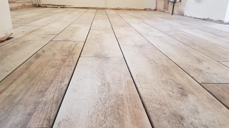 Image 20 - Wood effect porcelain kitchen floor
