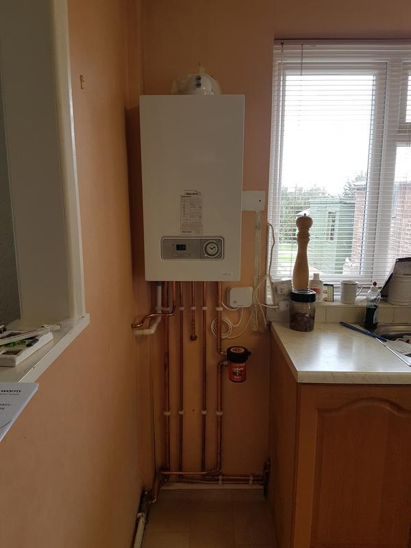 Image 59 - New combi boiler fitted.