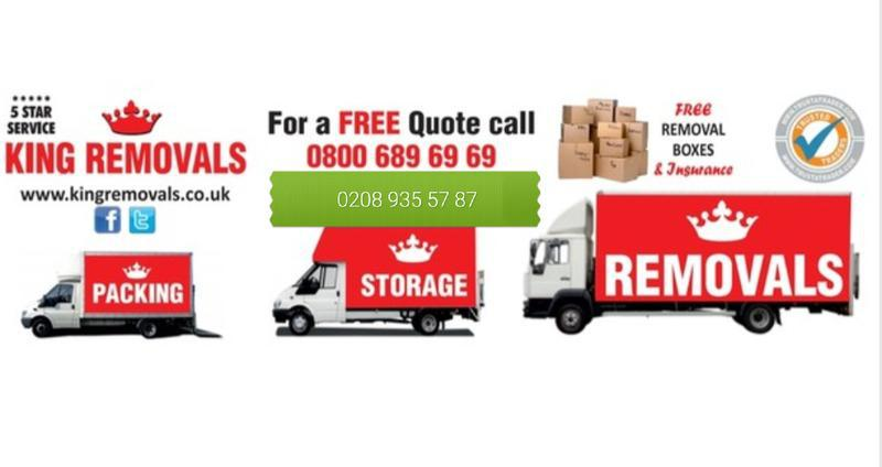 Image 8 - KING REMOVALS LONDON - ANY DISTANCE - ANY SIZE