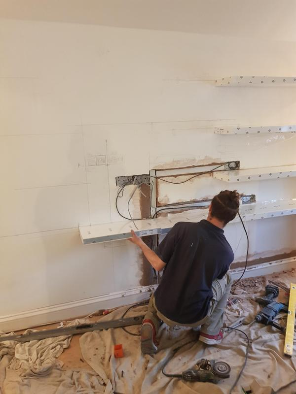 Image 1 - Building a shelving system for cinema room