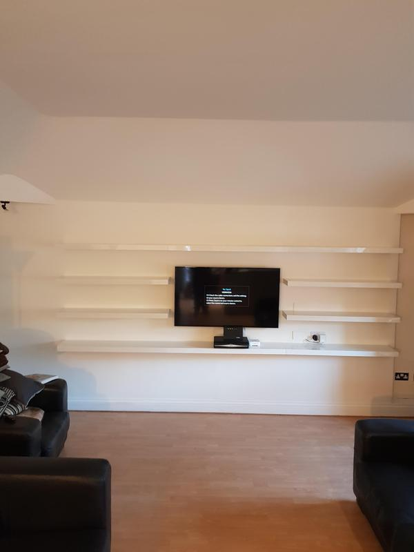 Image 3 - Completed shelving