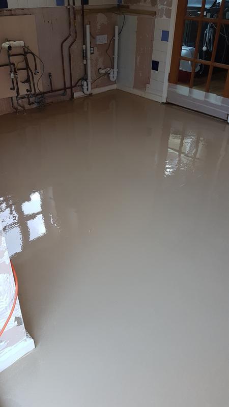 Image 15 - Granite kitchen floor after levelling