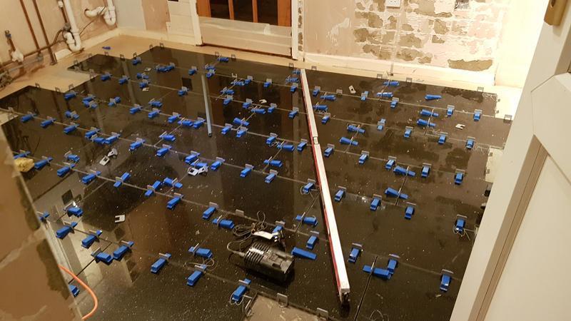 Image 16 - Granite kitchen floor mid job
