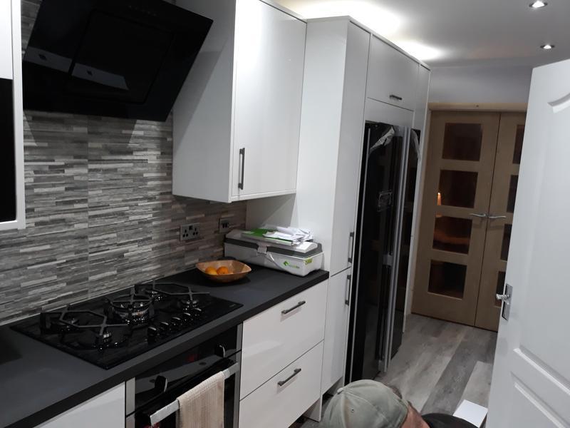 Image 48 - Knock through to new kitchen