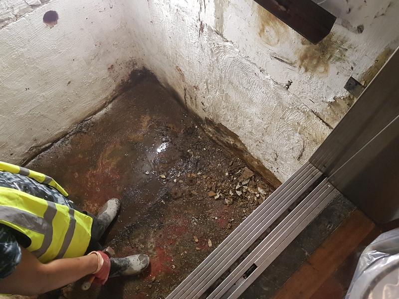 Image 40 - Tanking a basement.