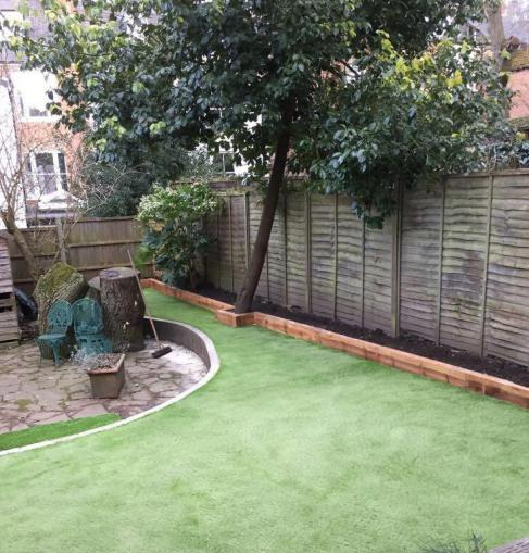 Image 118 - Artificial Lawn Installation