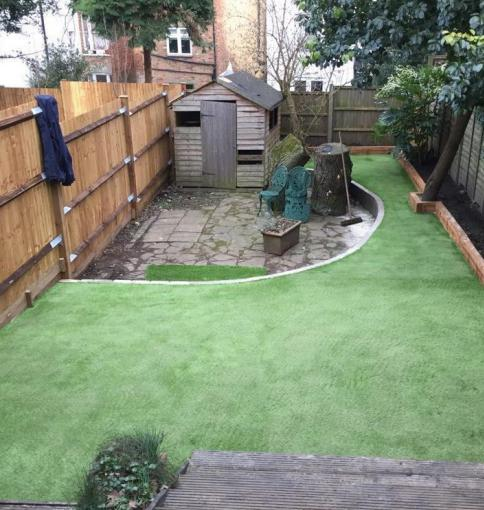 Image 120 - Artificial Lawn Installation