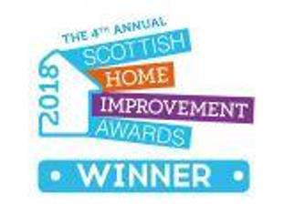 Image 1 - 2018 award winners at the Scottish Home Improvement Awards in the Kitchen category.