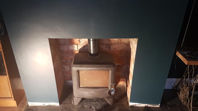 Image 12 - Bespoke fire place BEFORE