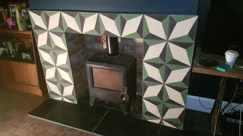 Image 13 - Bespoke fire place AFTER
