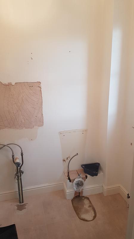 Image 7 - Bathroom retile. BEFORE