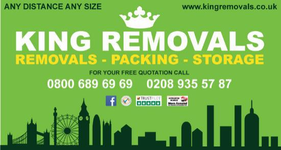 King Removals logo