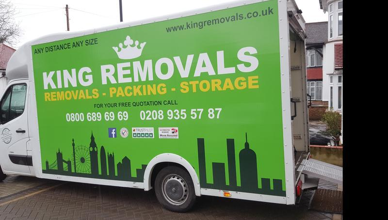 Image 4 - KING REMOVALS LONDON