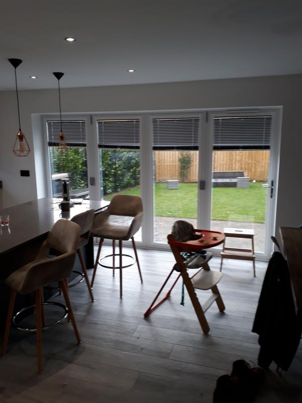 Image 8 - perfect fit blinds on bi fold doors