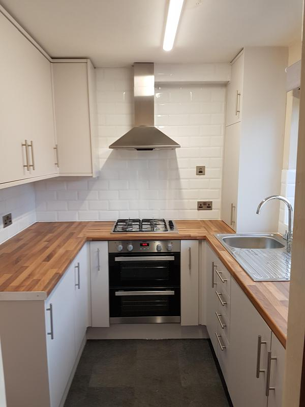 Image 6 - Complete new kitchen with bespoke concealed boiler unit.