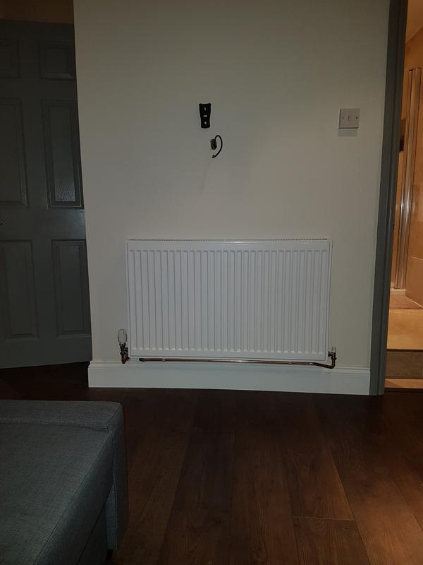Image 12 - (After) New radiator install.
